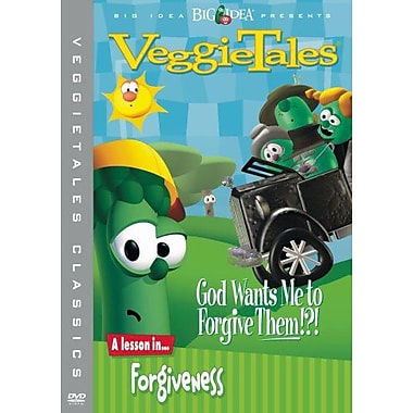 Veggie Tales God Wants Me To Forgive Them?!: A Lesson in Forgiveness (DVD)