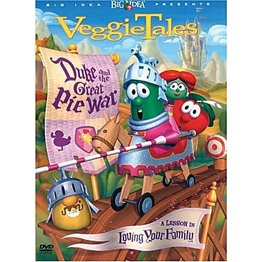 Veggie Tales: Duke & The Great Pie War: A Lesson in Loving your Family (DVD)