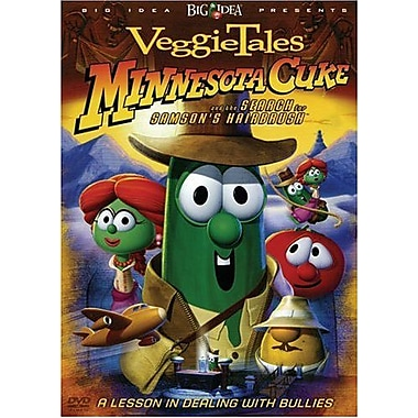 Veggie Tales: Minnesota Cuke and the Search for Samson's Hairbrush: A Lesson in Dealing with Bullies (DVD)