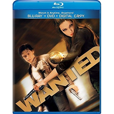 Wanted (2008) (BRD + DVD + Digital Copy)