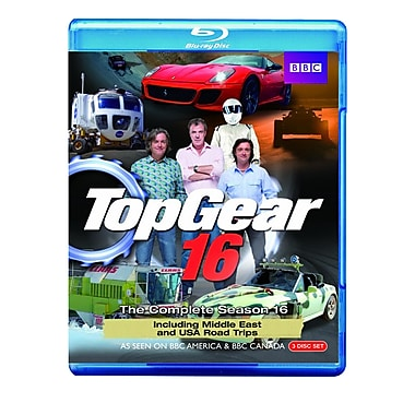 Top Gear 16: The Complete Season 16 (BLU-RAY DISC)