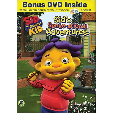 Sid the Science Kid - Sid's Sense-ational Adventures BOGO (DVD)