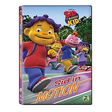 Sid the Science Kid: Sid in Motion (DVD)