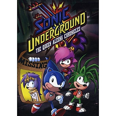 Sonic Underground: The Queen Aleena Chronicles (DVD)