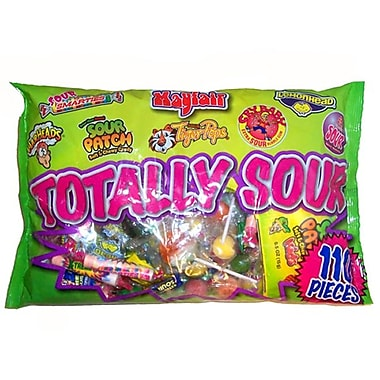 Mayfair Totally Sour, 2 lb. Bag,  110 Pieces/Bag