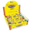 Scribblets 2 oz. Crayons, 12 Crayons/Box