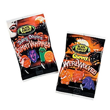 Black Forest Gummy Vampires & Werewolves Treat Packs, 48 Packs/Bag