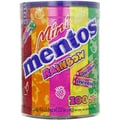 Mini Mentos Rainbow Rolls, 100 Rolls/Tub