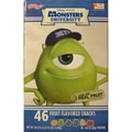 Monster's University Fruit Snacks, 46 Pouches/Box