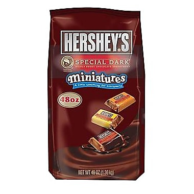 Hershey's Special Dark Chocolate Miniatures, 3 lb. Bag