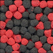 Jelly Belly Raspberries and Blackberries, 10 lb. Bag