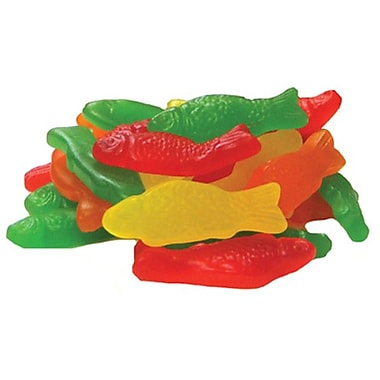 Jelly Belly Assorted Flavored Fish Chewy Candy, 10 lb. Bag