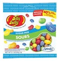 Jelly Belly Sugar Free Sours 3.1 oz. Peg  Bag, 12 Bags/Box