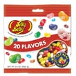Jelly Belly 20 Assorted Flavors Beananza 3.5 oz. Peg Bag, 12 Bags/Box