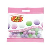 Jelly Belly Choc Dutch Mints 2.9 oz. Peg Bag, 12 Bags/Box