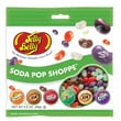 Jelly Belly Soda Pop Shoppe jelly beans 3.5 oz. Peg Bag, 12 Bags/Box