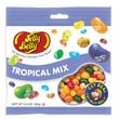 Jelly Belly Tropical Mix jelly beans in Beananza 3.5 oz. Peg Bag, 12 Bags/Box