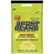Jelly Belly Lemon Lime Sport Beans 1 oz. Peg Bags, 24 Bags/Box