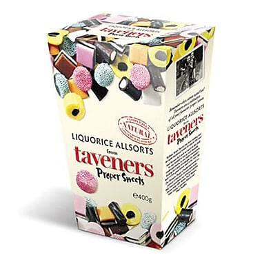 Gerrit Taverners Liquorice Allsorts, 14 oz. Boxes, 12 Boxes/Order