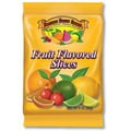 Boston Fruit Flavored  Slices, 3 oz. Peg Bag,  12 Bags/Box