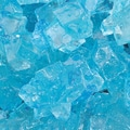 Dryden Palmer Blue Raspberry Rock Candy on string, 5 lb. Bag.