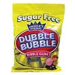 Sugar Free Dubble Bubble Gum 3.25 oz. Peg Bag, 12 Bags/Box