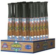 Dubble Bubble 6.6 oz. Homerun Baseball Bat with Gumballs, 24 Bats/Box