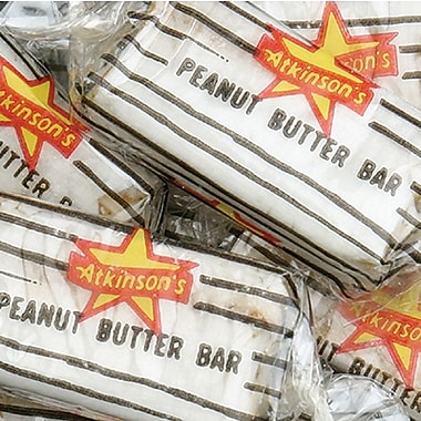 Atkinson Peanut Butter Bars, 30 lb. Bag.