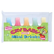 Cry Baby 5 Pack Sour Mini Drinks  1.7oz  pouch, 18 pouches/order