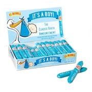 El Bubble Small Bubble Gum  Cigar Boy .7 oz., 36 Count Cigars,blue