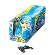 Pop Rocks Dips Blue Raspberry, 0.63 oz. Pouch, 18 Pouches/Box