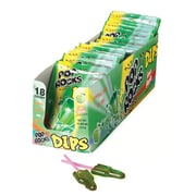 Pop Rocks Dips Sour Apple, 0.63 oz. Pouch, 18 Pouches/Box