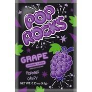Original Grape Pop Rocks, 0.33 oz. Pouch, 24 Pouches/Box