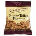 Old Dominion Butter Toffee Peanuts, 4 oz. Peg Bag, 24 Bags/Box