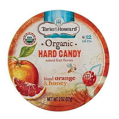 Blood Orange & Honey Hard Candy 2 oz. Tin, 8 Tins/Box