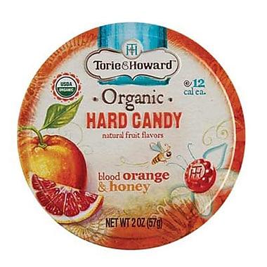 Blood Orange & Honey Hard Candy 2 oz. Tin, 8 Tins/Box