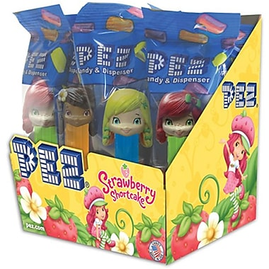 Strawberry Shortcake Assortment .58 oz., 12 Pez/Display