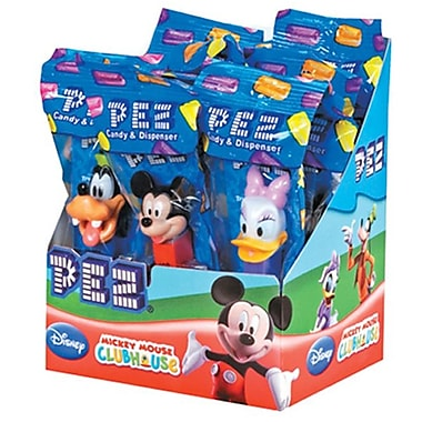 Disney's Mickey Assortment .58 oz., 12 Pez/Display