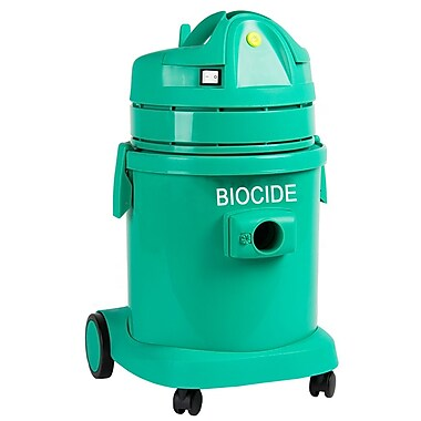 Atrix ATIBCV Biocide Antimicrobial Dry Vacuum, Green
