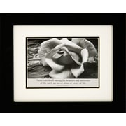 "Diamond Decor Ansel Adams ""Rose"" Framed Print Art, 10"" x 12"""