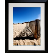 "Diamond Decor ""Fence Line"" Framed Print Art, 26"" x 32"""
