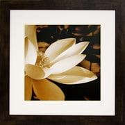 "Diamond Decor ""Bronze Lily #3"" Framed Art, 26"" x 26"""