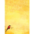 LANG® 3 1/2in. x 5in. 12/Pack Bee Eaters Petite Note Cards