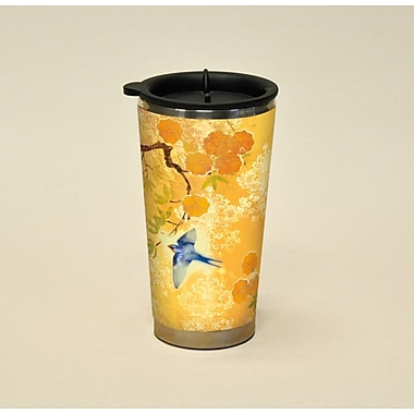 LANG® Artisan Garden of Plumes 16 oz. Travel Mug
