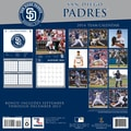 Turner Licensing® San Diego Padres 2014 Team Wall Calendar, 12in. x 12in.