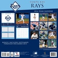 Turner Licensing® Tampa Bay Rays 2014 Team Wall Calendar, 12in. x 12in.