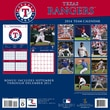 Turner Licensing® Texas Rangers 2014 Team Wall Calendar, 12in. x 12in.