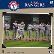 Turner Licensing® Texas Rangers 2014 Team Wall Calendar, 12 x 12