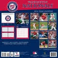 Turner Licensing® Washington Nationals 2014 Team Wall Calendar, 12in. x 12in.