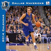 Turner Licensing® Dallas Mavericks 2014 Team Wall Calendar, 12 x 12